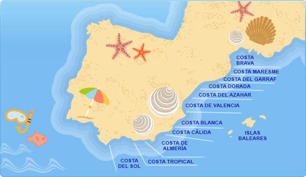 Hoteles En Costas Mediterr 225 Neas Espa 241 Olas Costas Del