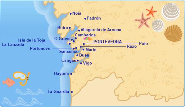Hoteles en Ras Bajas Costa de Galicia  Tu Hotel en