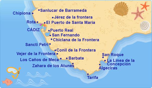 Hoteles en Costa de Cdiz Costa de la Luz  Tu Hotel en