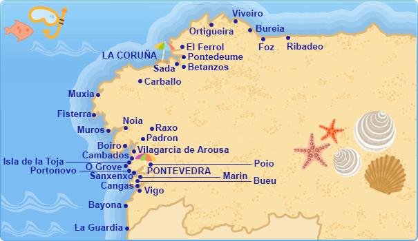 Hoteles en Costa de Galicia Costas Atlnticas Espaolas  Tu