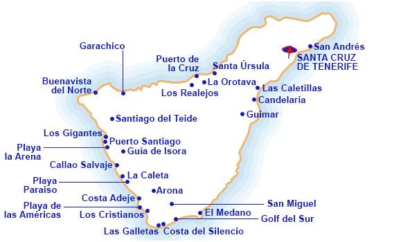 Hoteles En Costa De Tenerife Centraldereservas Com